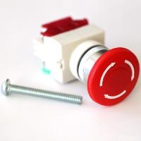 Buildyourcnc E Stop Emergency Stop Button 120v 10a